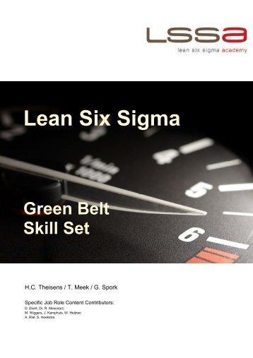 Green Belt - LSSA