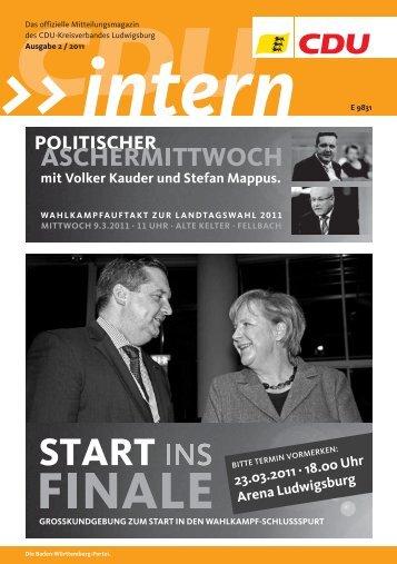 Termine KREISTEIL - CDU Stadtverband Vaihingen/Enz