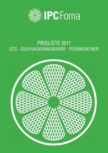 Prisliste 2012/2013 - Foma