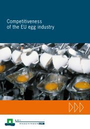 Competitiveness of the EU egg industry