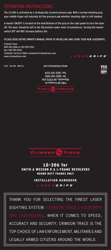 Rail master® universal green laser sight | official crimson trace.
