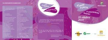 Scarica la brochure - CSV Vicenza