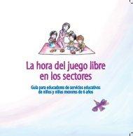 La hora del juego libre en los sectores - Dirección EBR - Ministerio ...