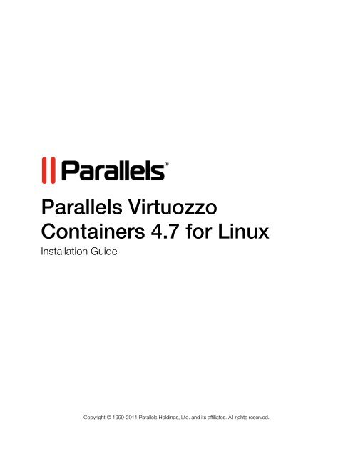 parallels virtuozzo containers 4.7