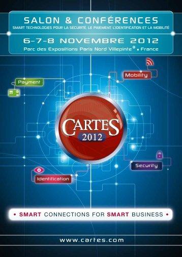 Plaquette du salon - Cartes 2012
