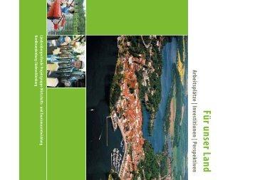 Für unser LandArbeitsplätze | Investitionen | Perspektiven - Pro Heide