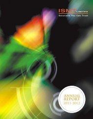 Annual Report 2011-2012 - Ismt.com