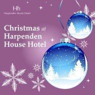 christmas brochure - Harpenden House Hotel