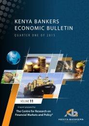 KENYA BANKERS ECONOMIC BULLETIN