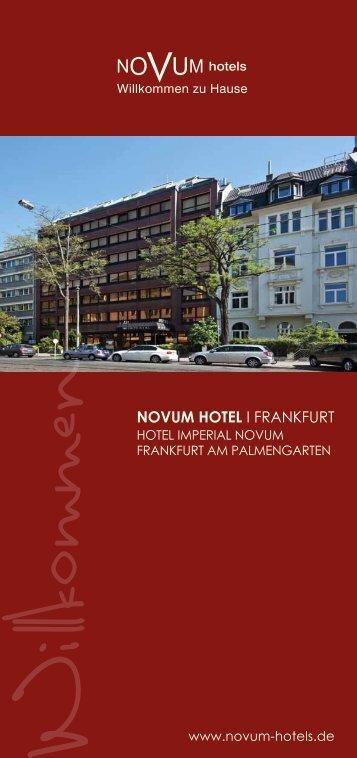 NOVUM HOTEL I FRANKFURT - Novum Group Hotels