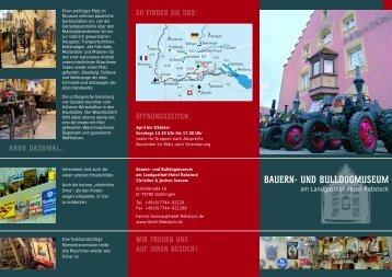 BAUERN- UND BULLDOGMUSEUM - Landgasthof-Hotel Rebstock ...