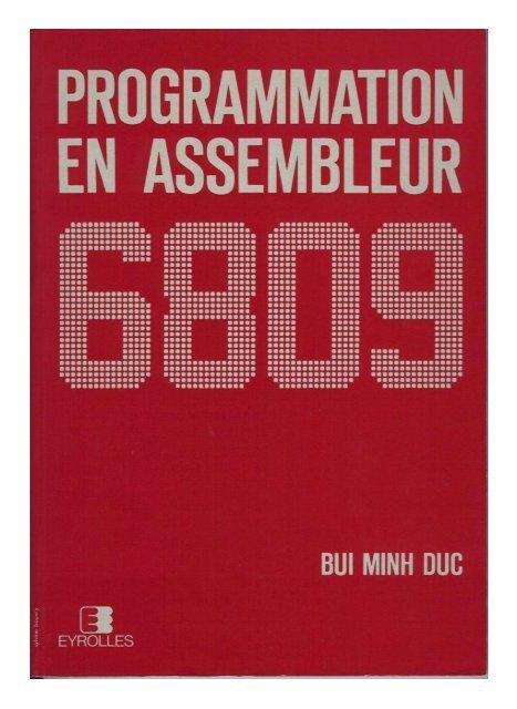 Bui Minh Duc - Programmation en assembleur 6809