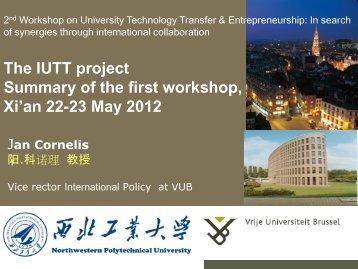 Xi'an 22-23 May 2012