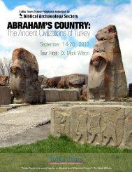 turkey - Biblical Archaeology Society