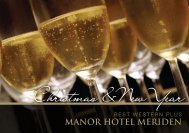 Christmas &New Year - Manor Hotel