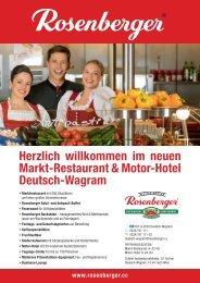 Herzlich willkommen im neuen Markt-Restaurant & Motor-Hotel ...