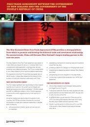 English version - New Zealand China Free Trade Agreement