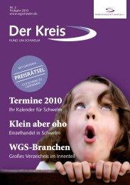 Termine 2010 - Werbegemeinschaft Schwelm e.V.