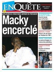 Macky encerclé