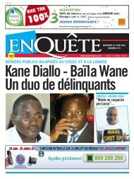 Kane Diallo - Baïla Wane Un duo de délinquants