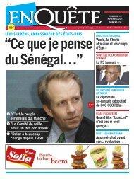 """""""Ce que je pense du Sénégal…"""""""