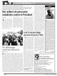 """Des milliers de personnes mobilisées contre le Président A """"T - Page 4"""