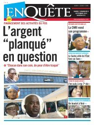 "L'argent ""planqué"" en question"