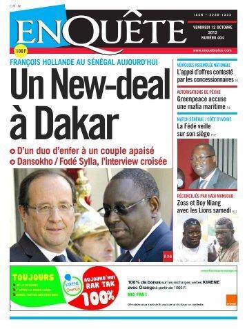 à Dakar