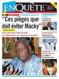 Macky Sall promet 15% du budget à la Santé