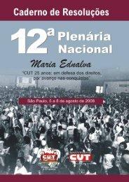 12ª Plenária Nacional Da CUT