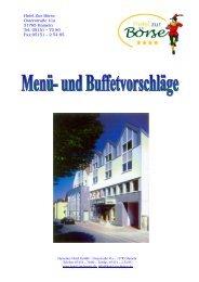 und Krustentier Buffet - Hotel Hameln
