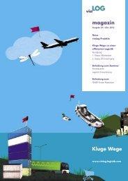 Magazin 29.indd - viaLog Logistik Beratung GmbH