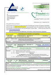 Frauenklinik - Ammerland-Klinik GmbH