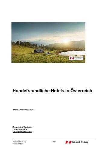 Hundefreundliche Hotels in Österreich - Marley der tierische ...