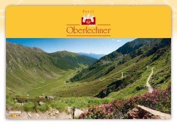 Download Preisliste Sommer PDF (ca. 4,2 MB - Hotel Oberlechner