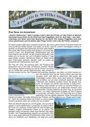 Reisebericht Ammerland Mai 2010
