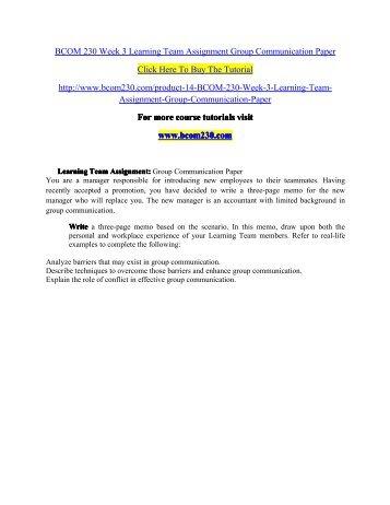 BCOM 230 professional tutor/bcom230mart.com