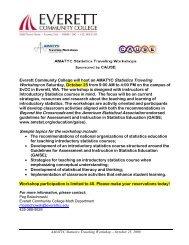 Eac Statistics Workshop Oct 08 [pdf] - Transition Mathematics Project