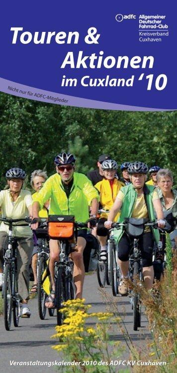 Touren & Aktionen im Cuxland '10 - Allgemeiner Deutscher Fahrrad ...