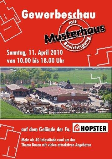 Gewerbeschau - Hopster Bau, Bauunternehmen in Fürstenau