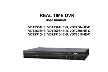 REAL TIME DVR