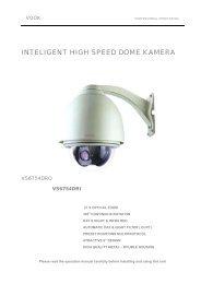 INTELIGENT HIGH SPEED DOME KAMERA