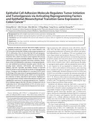 Epithelial Cell Adhesion Molecule Regulates Tumor Initiation and ...