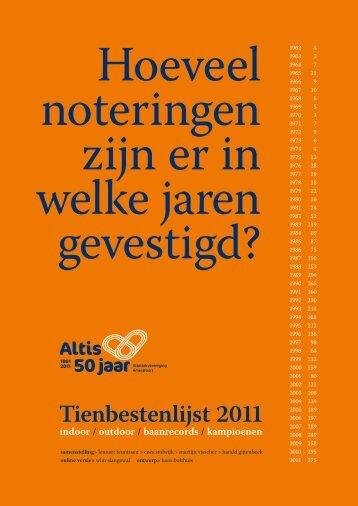 PDF van het boekje - Altis