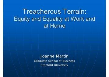 Treacherous Terrain