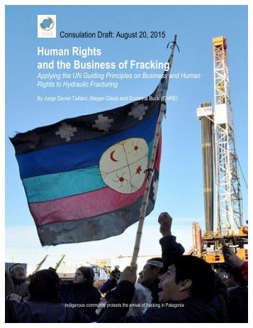 Human Rights and the Business of Fracking