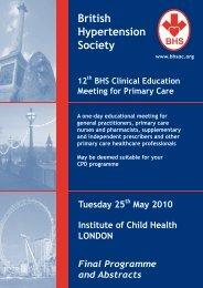 Untitled - British Hypertension Society