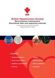 British Hypertension Society