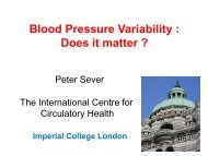 Blood Pressure Variability  Does it matter ?