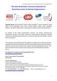 Version 5 - Renal Denervation for Resistant Hypertension - British ...